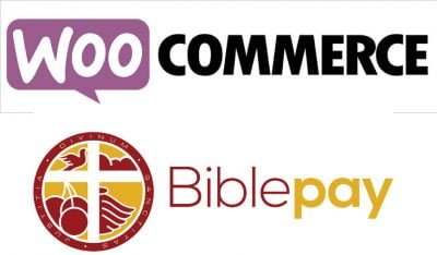 BiblePay eCommerce plugin for WooCommerce